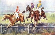 spo021435 - Horse Racing, Trotters, Postcard Postcards