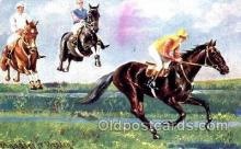 spo021437 - Horse Racing, Trotters, Postcard Postcards