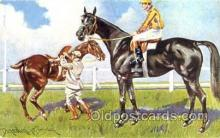spo021438 - Horse Racing, Trotters, Postcard Postcards