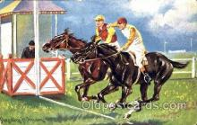 spo021452 - Horse Racing, Trotters, Postcard Postcards