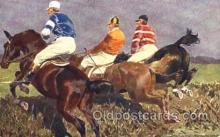 spo021453 - Horse Racing, Trotters, Postcard Postcards