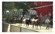 spo021458 - Belmont Park, Long Island, New York USA, Horse Racing, Trotters, Postcard Postcards