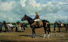 spo021477 - Barbizon, Jockey Willey Hartack, Garden State, New Jersey, USA Horse Racing, Trotters, Postcard Postcards