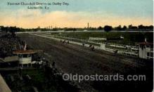 spo021480 - Derby Day, Louisville, Kentucky, USA Horse Racing Postcard Postcards