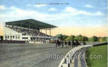 spo021484 - Race Track, Lexington, Kentucky, USA, Horse Racing Postcard Postcards