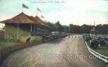 spo021494 - Driving Park Horse Racing, Trotter, Trotters, Postcard Postcards