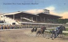 spo021499 - Hagerstown Race Track Horse Racing, Trotter, Trotters, Postcard Postcards