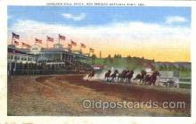 spo021502 - Oaklawn Race Track Horse Racing, Trotter, Trotters, Postcard Postcards