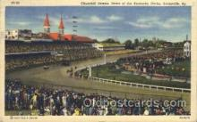 spo021504 - Kentucky Derby Horse Racing, Trotter, Trotters, Postcard Postcards