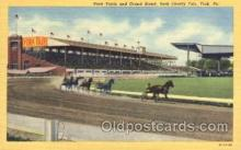 spo021512 - York County Fair Horse Racing, Trotter, Trotters, Postcard Postcards