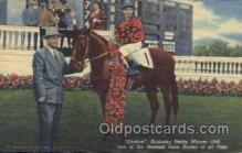 spo021516 - One of the Greatest Racehorses of all Time Horse Racing, Trotter, Trotters, Postcard Postcards