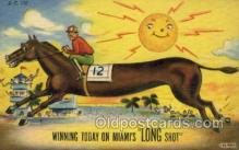 spo021545 - Horse Racing Old Vintage Antique Postcard Post Cards