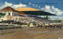 spo021555 - Miami Jockey Club, Miami, FL USA Horse Racing Old Vintage Antique Postcard Post Cards