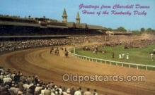 spo021567 - Kentucky Derby, Louisville, KY USA Horse Racing Old Vintage Antique Postcard Post Cards
