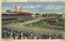 spo021568 - Churchill Downs,  Louisville, KY USA Horse Racing Old Vintage Antique Postcard Post Cards