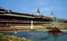 spo021570 - Churchill Downs,  Louisville, KY USA Horse Racing Old Vintage Antique Postcard Post Cards
