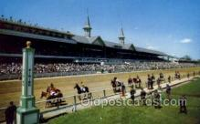 spo021581 - Louisville, KY USA Horse Racing Old Vintage Antique Postcard Post Cards