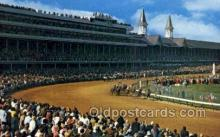 spo021598 - Churchill Downs,  Louisville, KY USA Horse Racing Old Vintage Antique Postcard Post Cards