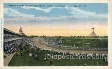 spo021602 - Churchill Downs,  Louisville, KY USA Horse Racing Old Vintage Antique Postcard Post Cards