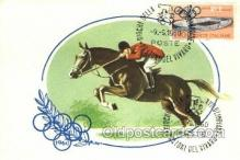 spo021630 - Horse Racing Old Vintage Antique Postcard Post Cards