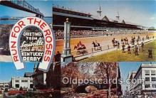 spo021641 - Horse Racing Postcard Post Card