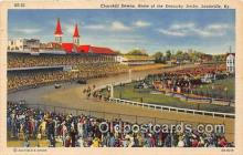spo021645 - Horse Racing Postcard Post Card