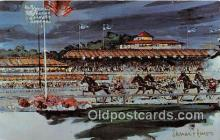 spo021647 - Horse Racing Postcard Post Card