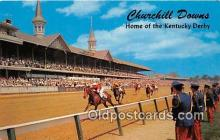 spo021655 - Horse Racing Postcard Post Card