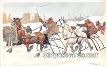 spo021690 - Horse Racing Postcard Post Card