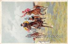 spo021692 - Horse Racing Postcard Post Card