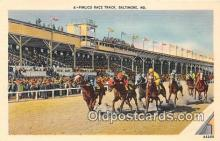 spo021694 - Horse Racing Postcard Post Card
