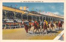 spo021696 - Horse Racing Postcard Post Card