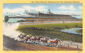 spo021704 - Horse Racing Postcard Post Card