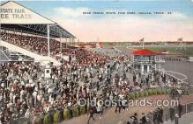spo021711 - Horse Racing Postcard Post Card