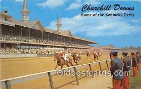 spo021716 - Horse Racing Postcard Post Card