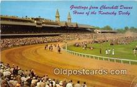 spo021717 - Horse Racing Postcard Post Card