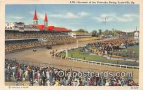 spo021722 - Horse Racing Postcard Post Card