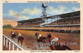 spo021725 - Horse Racing Postcard Post Card