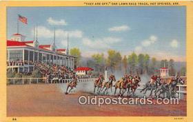 spo021732 - Horse Racing Postcard Post Card