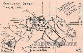 spo021739 - Horse Racing Postcard Post Card