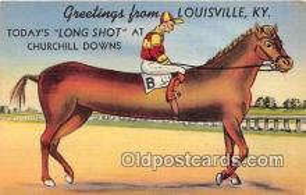 spo021751 - Horse Racing Postcard Post Card