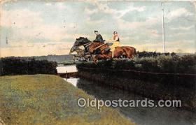 spo021755 - Horse Racing Postcard Post Card