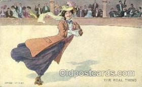 spo022026 - Artist R. Hill, Roller Skating Postcard Postcards