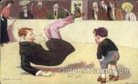 spo022028 - Artist R. Hill, Roller Skating Postcard Postcards