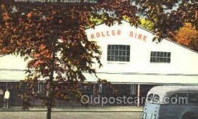 spo022051 - Rocky Springs Park, Lancaster, PA USA Roller Skating Postcard Postcards
