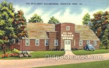 spo022061 - The Wile-Away Rollerdrome, Mountain Home, Pennsylvania, USA Roller Skating Postcard Postcards