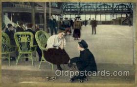 spo022065 - Roller Skating Postcard Postcards