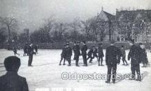 spo022067 - Winter Sport on Midway, Roller Skating Postcard Postcards