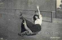 spo022082 - Roller Skating Old Vintage Antique Postcard Post Cards