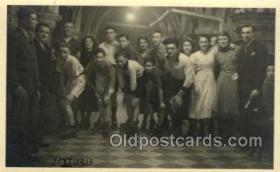 spo022084 - Roller Skating Old Vintage Antique Postcard Post Cards